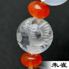 画像6: 四神タイガーアイ(虎目石) - 10mm玉、サイズ17cm (6)
