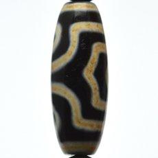 画像7: 三眼天珠・ホークスアイ - 12mm玉、サイズ17cm (7)