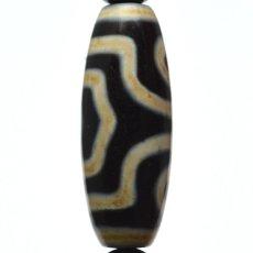画像9: 三眼天珠・ホークスアイ - 12mm玉、サイズ17cm (9)