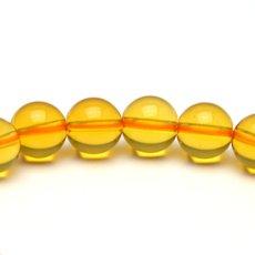 画像4: シトリン(黄水晶) - 10mm玉、サイズ17cm (4)